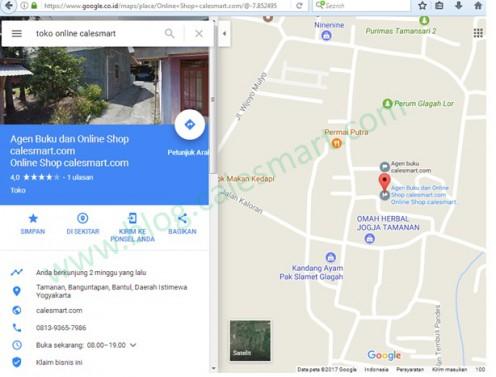 Menyematkan google maps ke dalam Web atau HTML