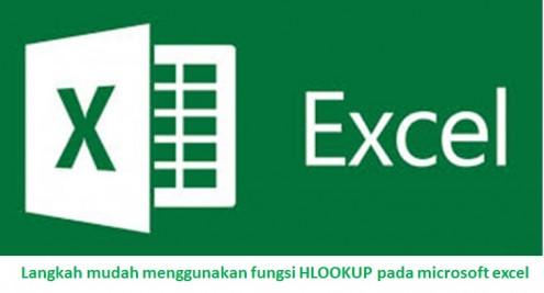 Langkah mudah menggunakan fungsi HLOOKUP pada microsoft excel