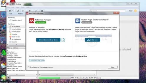 7 langkah mudah untuk install Software Manajemen Referensi mendeley pada komputer
