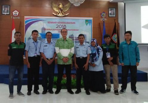 Resume Seminar Kewirausahaan ala mahasiswa jogja, Oleh Drs. B. L. Luntungan,B.Sc.,S.H.,M.M