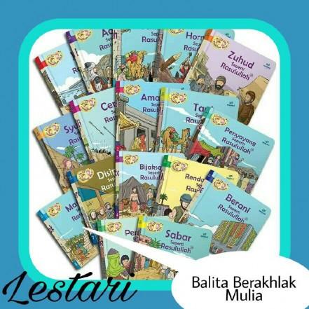 Review Buku Balita Berakhlak Mulia