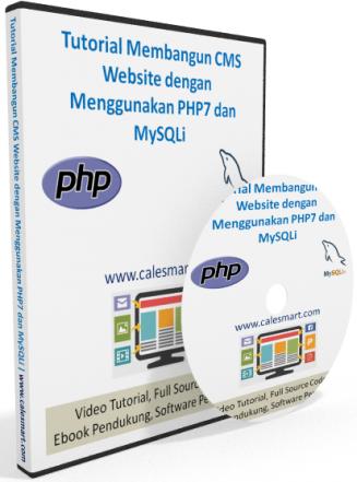 Video Tutorial: Membangun CMS Website dengan menggunakan PHP dan MySQLi